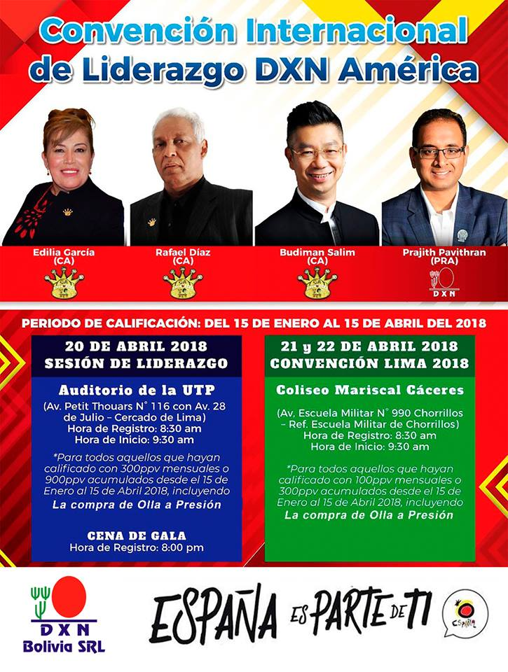 <p>International Leadership Convention of DXN America in Lima Peru</p>